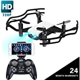 JoyGeek Drone with Camera for Adults, 720P HD Tello FPV RC Quadcopter Toy Wifi Live Video Optical Flow Gesture Selfie Altitude Hold Gravity Sensor APP Remote for iPhone and Android