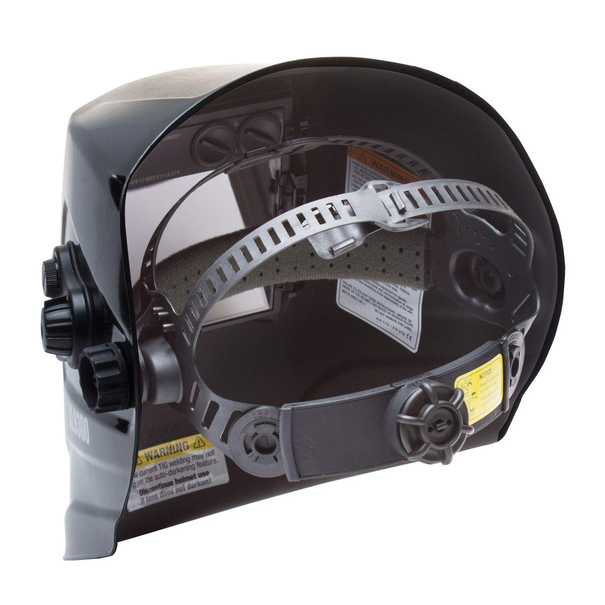 Eastwood Xl View Auto Darkening Welding Helmet Mask Kit Adjustable Headband Comfortable - Xl9300 by Eastwood (Image #6)