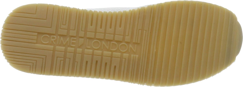 4.5 UK Crime London Womens 25502pp1 Low-Top Sneakers, Grey 30