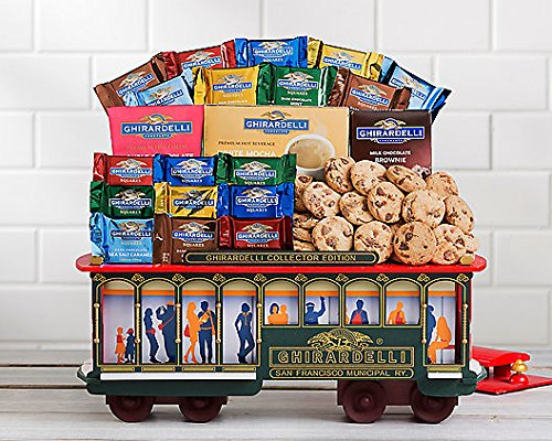 Ghirardelli Cable Car Chocolate Collection