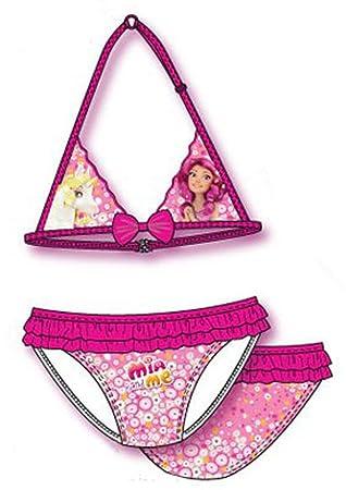 Mia And Me Bikini Beach Swimming Costume With Bow Voilant Girls