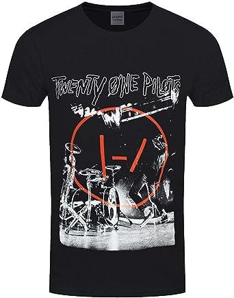 Twenty One Pilots - Camiseta de manga corta para hombre: Amazon.es: Ropa y accesorios