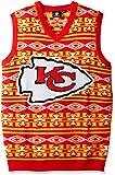 KLEW NFL Ugly Sweater Vest
