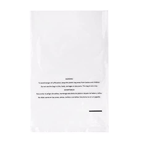 Amazon.com: Owlpack 2 Mil Poly Bags with Suffocation Warning for Packing and Storage | Use for Amazon FBA Shipping (6 x 9 Inches, Pack of 1000): Office ...