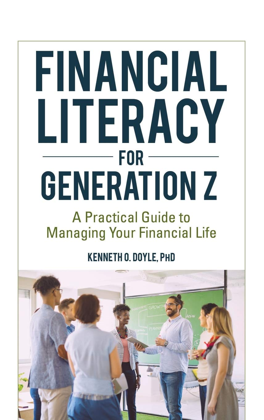 Book cover of Financial Literacy for Generation Z