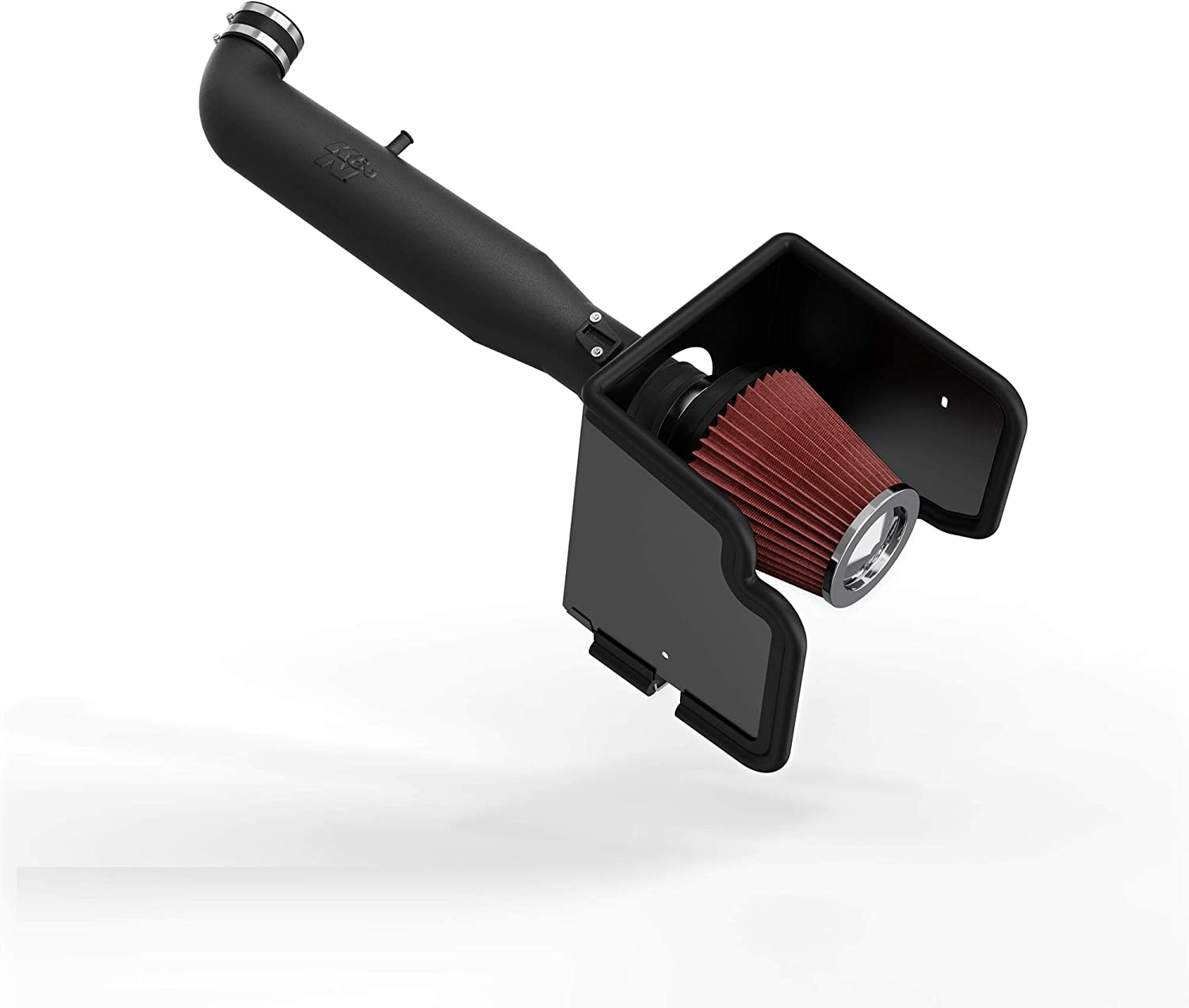 05-15 Nissan Frontier Cold Air Intake System with Heat Shield Kit Filter Combo RED Compatible For 05-12 Nissan Pathfinder 05-15 Nissan Xterra 4.0L V6
