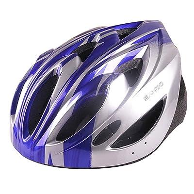 Freefisher LED Casque Protection de velo/cyclisme bleu gris