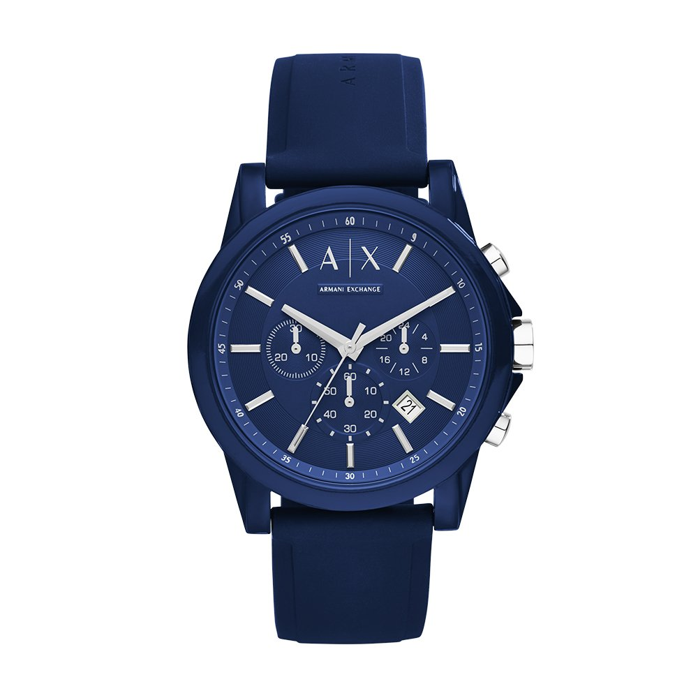 e137dc421cbd Armani Exchange Unisex AX1327 Outerbanks Analog Display Analog Quartz Blue  Watch  Armani Exchange  Amazon.ca  Watches