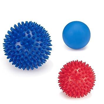 Juego de Pelota de masaje bola masajeadora con pinchos (2 & 1 ...