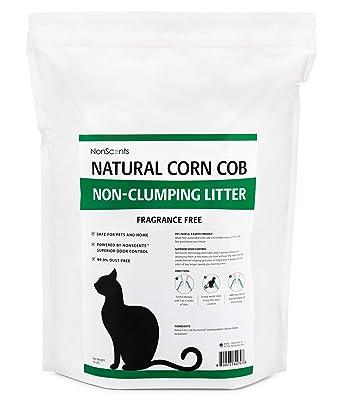 NonScents Non-Clumping Natural Corn Cob Cat Litter