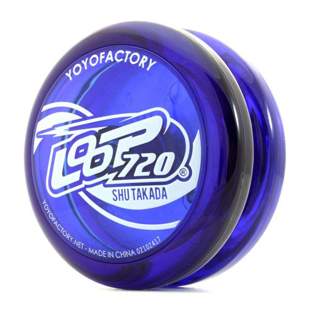 YoYoFactory Loop 720 - Looping Yo-Yo -Shu Takada Edition - John Ando Signature Yo-Yo (Translucent Blue)