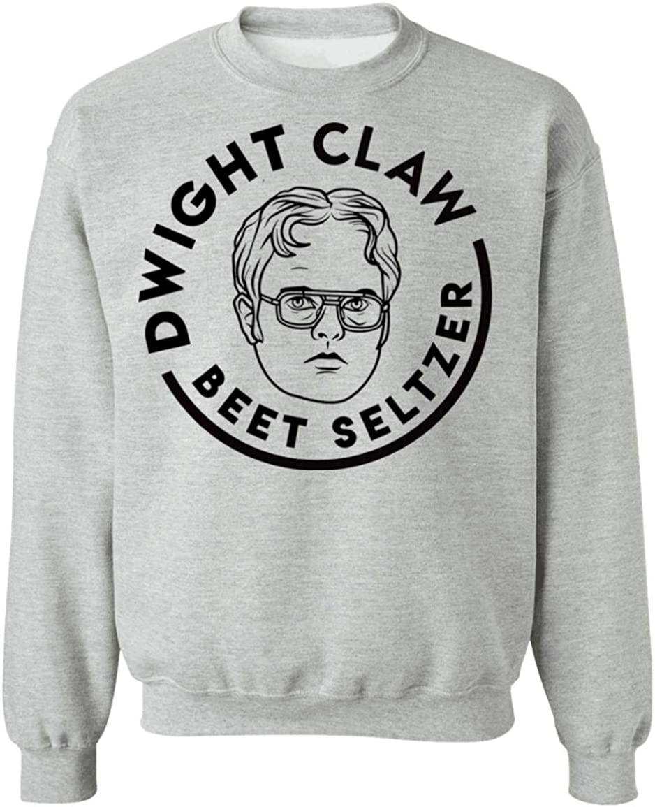 Dwight Claw Beet Seltzer The Office Lovers Funny Unisex Sweatshirt