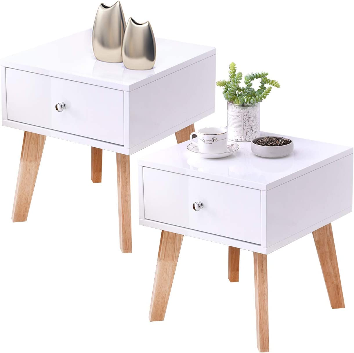 TaoHFE Nightstands Modern Nightstand