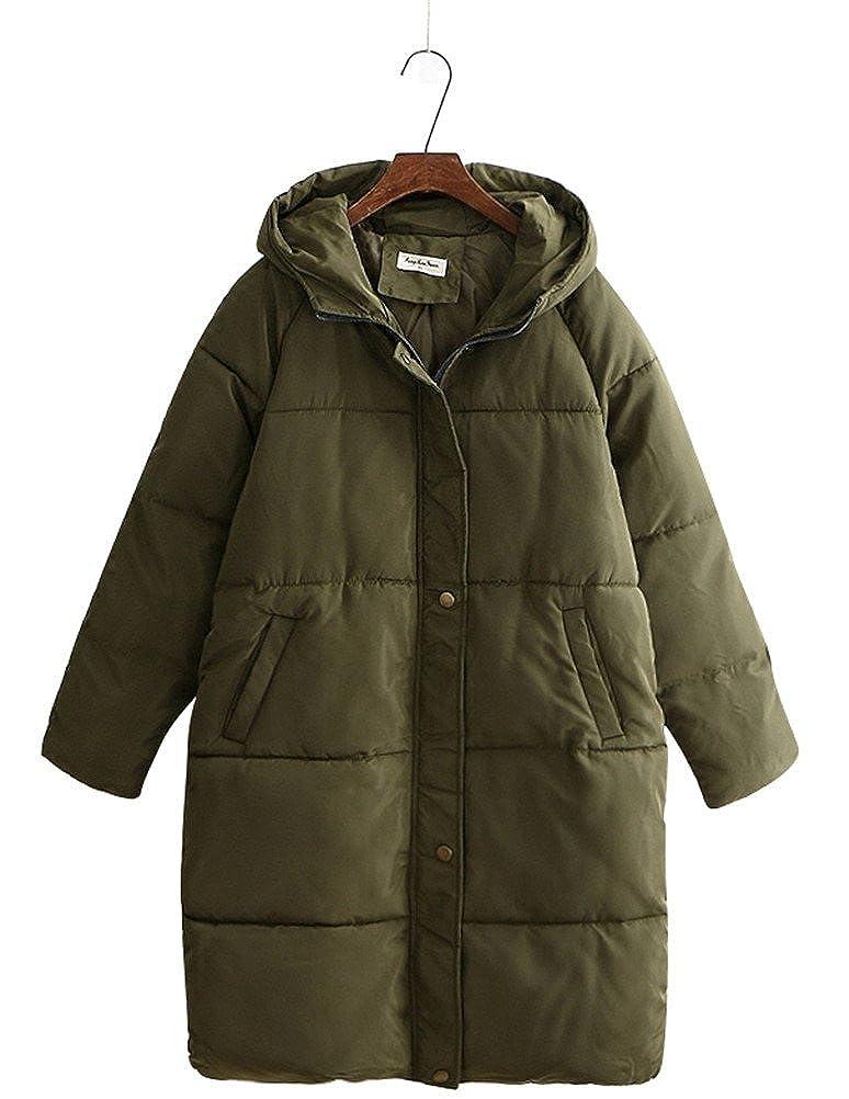 a1b70c787bf Amazon.com  ACE SHOCK Cotton Padded Coat Women Plus Size