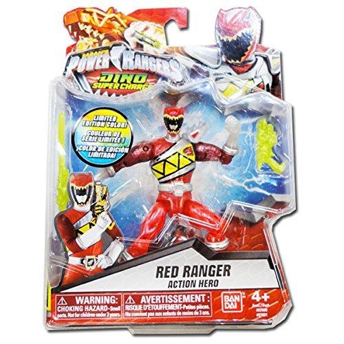 Saban's Power Rangers Dino Super Charge Red Ranger Transluce