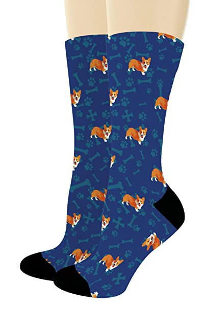 c8a68f7dd574 Corgi Dog Themed Socks Corgi Socks for Men and Women Corgi Lovers Gifts  1-Pair