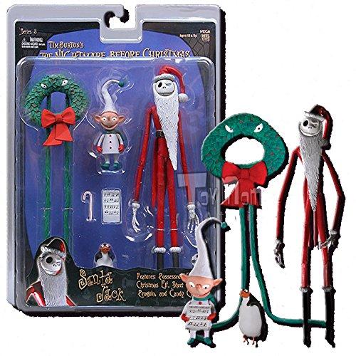 NECA Tim Burton's The Nightmare Before Christmas Series 3 Action Figure Santa Jack
