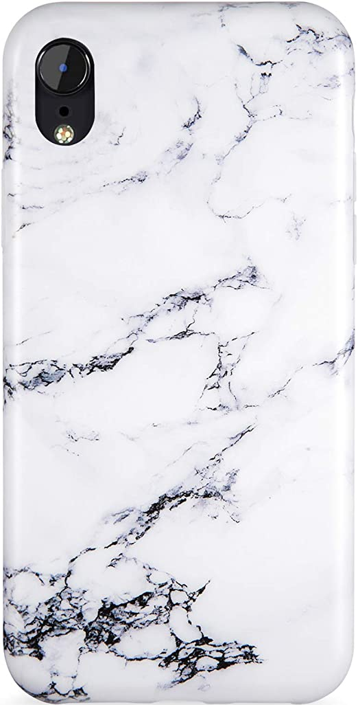 Amazon Com Iphone Xr Cases For Girls Iphone Xr Silicone Case Black White Marble Design For Women Zadorn Slim Fit Soft Silicone Rubber Tpu With Clear Bumper Protective Phone Case For Iphone Xr 6 1 Inch
