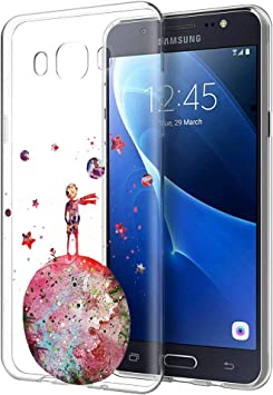 YOEDGE Funda Samsung Galaxy J5 2016 Ultra Slim Cárcasa Silicona ...