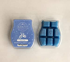 Scentsy Jammy Time Bar Wickless Candle Tart Warmer Wax 3.2 Fl Oz, 8 Squares