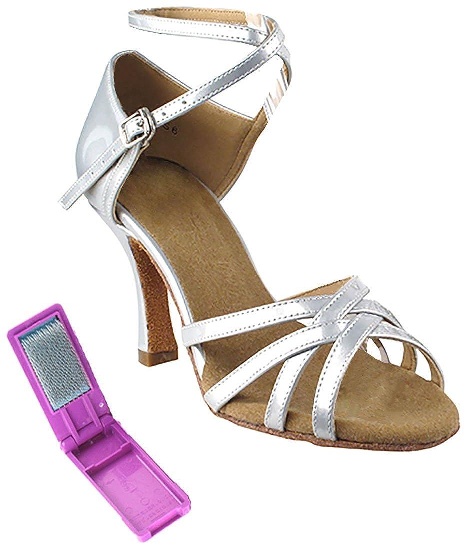 [Very Fine Dance Shoes] レディース B06XNL4YMS Pearl Silver 6.5 B(M) US