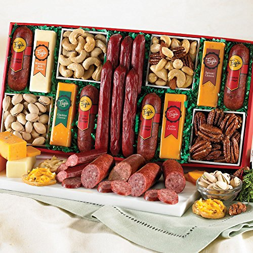 The Ultimate Snacker (Meat And Cheese Gifts)
