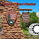 Sequoia National Park - Classic ViewMaster - Sequoia National Parks, California. - 3 Classic Vintage 3D Reels