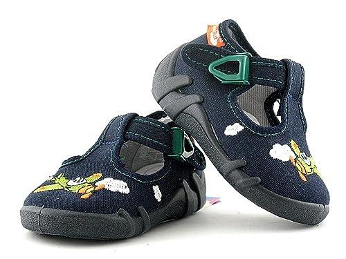 Yaro - Zapatillas de Estar por casa de algodón para niño: Amazon.es: Zapatos y complementos