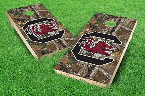 Game South Carolina Gamecocks Camo - PROLINE NCAA College 2' x 4' South Carolina Gamecocks Cornhole Board Set - Xtra Camo (w/ Bluetooth Speakers)