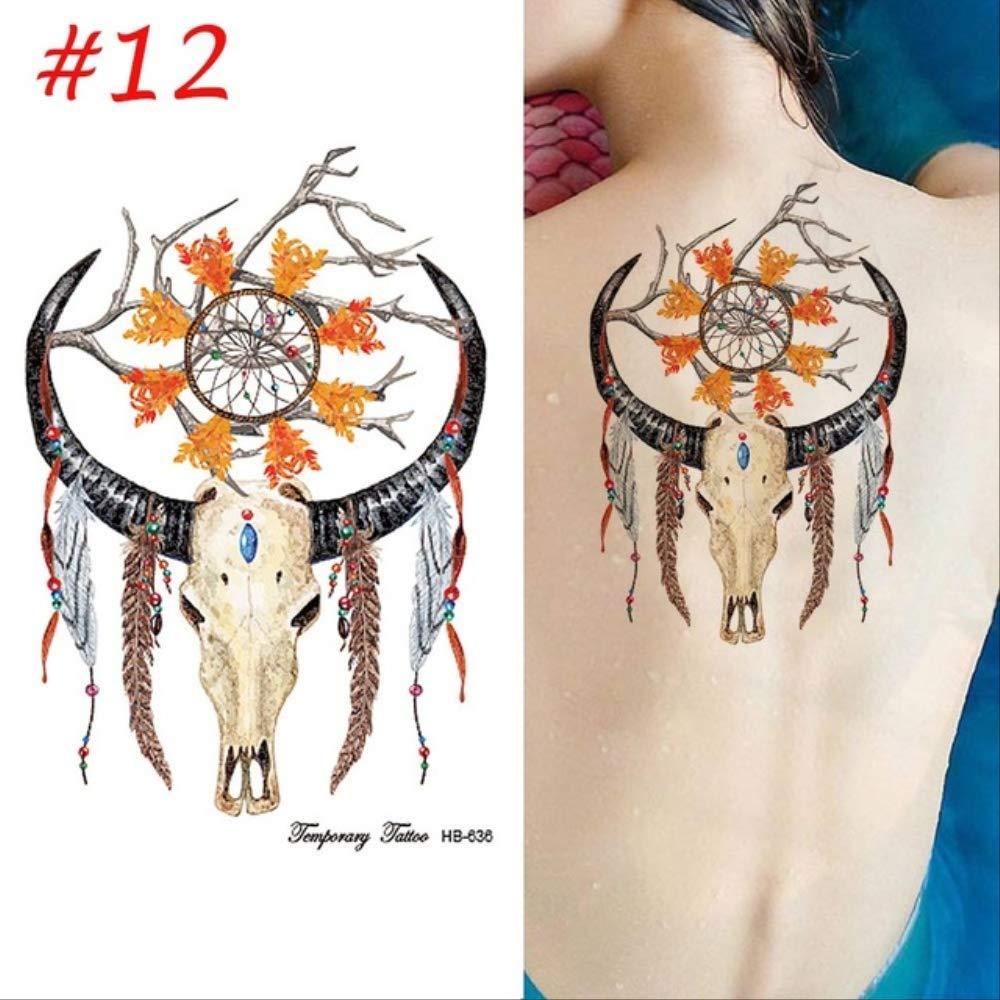 Moda colorida hoja de plumas femeninas Dream Catcher diseño de ...