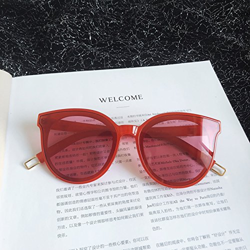 VVIIYJ Gafas de de sol Gafas Round Negro de polarizadas femeninas Hombres femeninas sol Gafas redondas sol red Redondo rrdFq