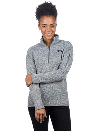 Amazoncom Patagonia Womens Better Sweater 14 Zip Fleece Clothing