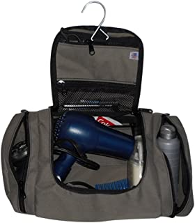product image for BAGS USA Large Hanging Toiletry or Shaving Bag for All Your Essential,Ditty Bag, Made in U.S.A.
