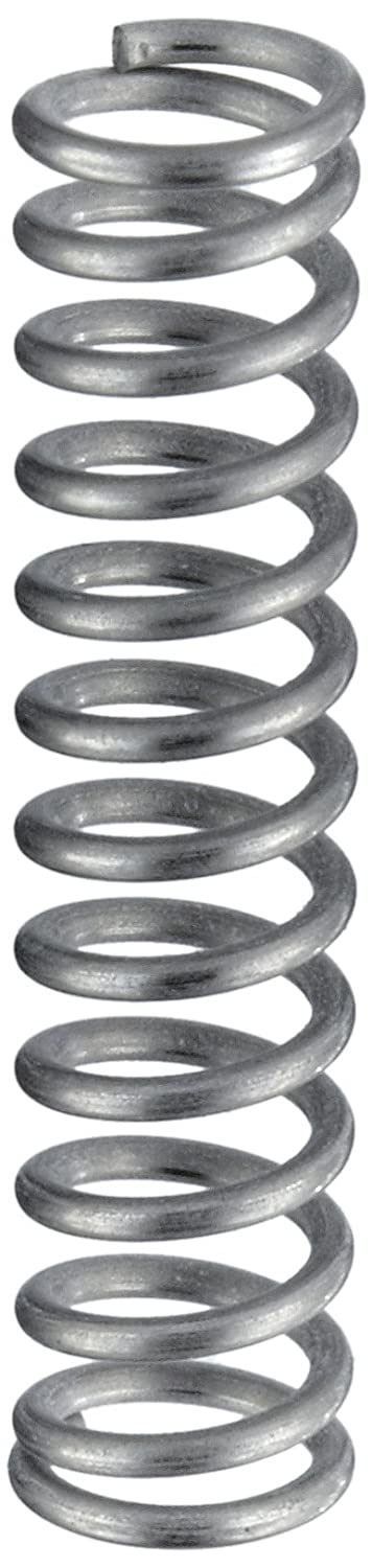 Compression Spring Stainless Steel Metric 4.63 mm OD 0.63 mm Wire Size 5.79 mm Compressed Length 9.6 mm Free Length 14.28 N Load Capacity 3.79 N mm Spring Rate Pack of 10
