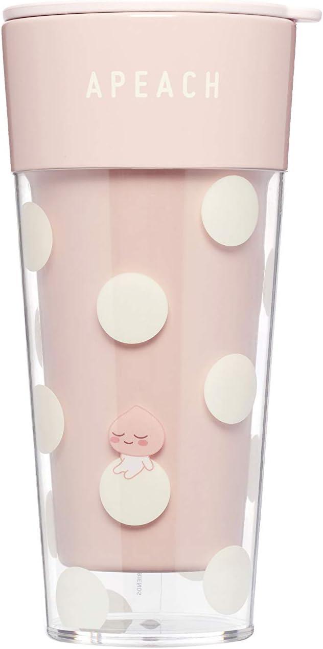 [オフィシャル] カカオフレンズ - ちびアピーチドットタンブラピンク KAKAO FRIENDS - Chibi Apeach Dot Tumbler Pink