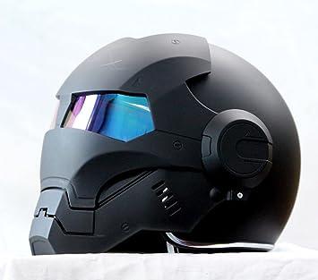 Generico Masei 610 Atomicman - Casco para moto homologado, talla S, M, L