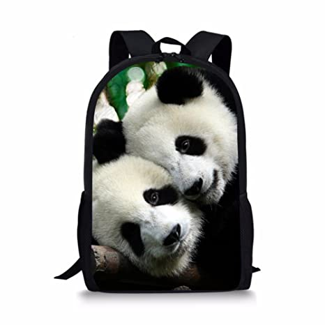 d9c45a6dd052 Showudesigns Cute Panda Child Rucksack Green School Backpack for Boys Gilrs