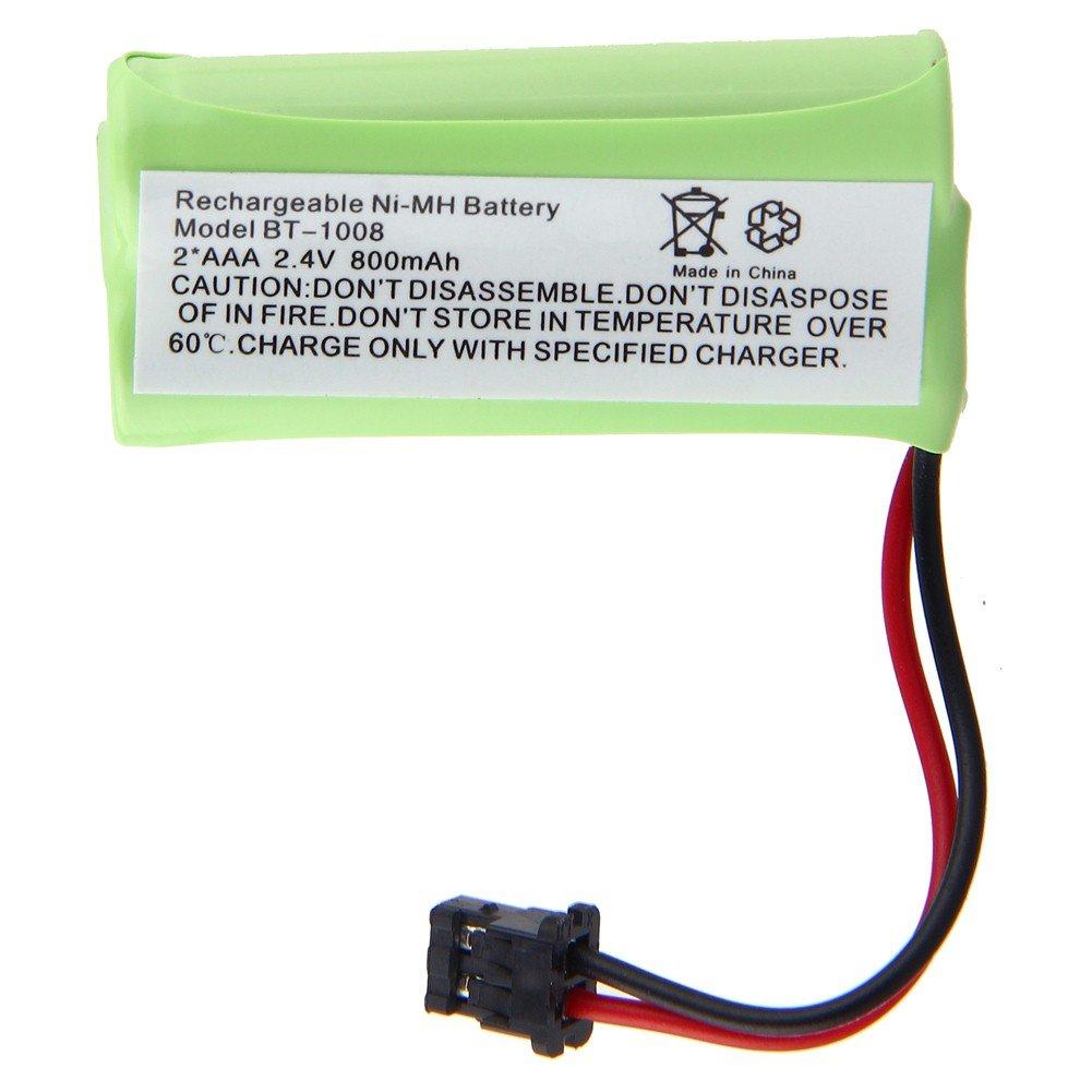 Phone Battery for Uniden Cordless Phones BT-1008 (Bulk Packaging, Lifetime Warranty) GC-BT10082L
