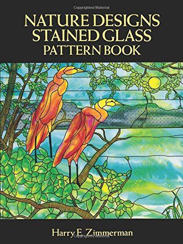 Pdf Crafts Nature Designs Stained Glass Pattern Book (Dover Stained Glass Instruction)