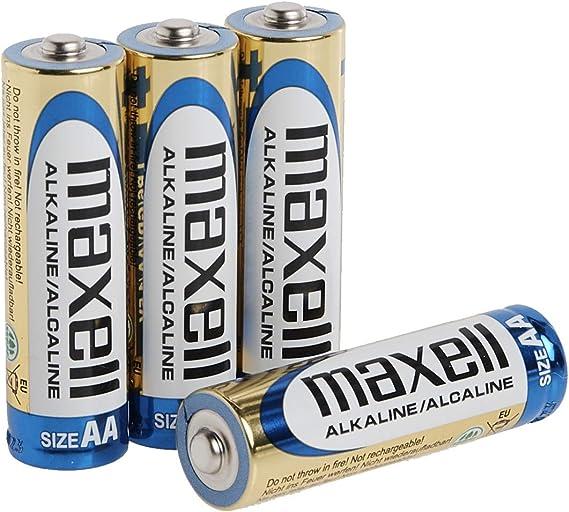 48 x MaxAmps AA Alkaline Battery Cells