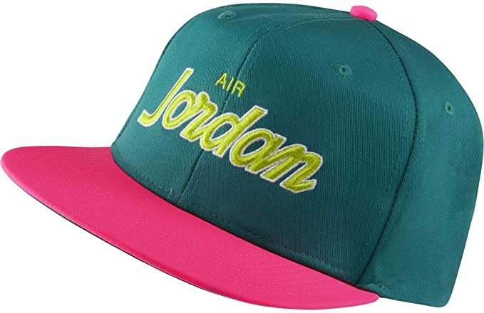 Jordan Pro Script Gorra Hombre Verde: Amazon.es: Ropa y accesorios