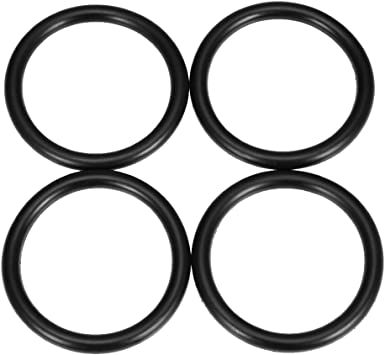 BILLET BUMPER TRUNK QUICK RELEASE FASTENER KIT REPLACEMENT RUBBER O RING