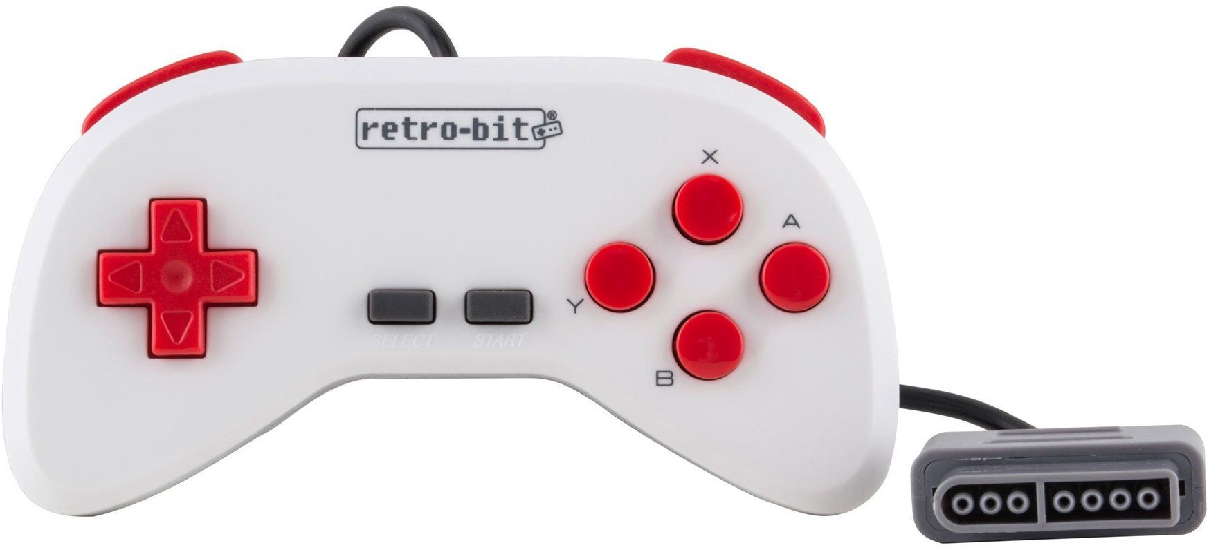 Retro-Bit Super Retro Trio HD Plus 720P 3 in 1 Console System (2019) Bundle with 1-Year Warranty from Geek Theory - for NES, SNES, and Sega Genesis Original Game Cartridges - Red/White by Geek Theory (Image #6)
