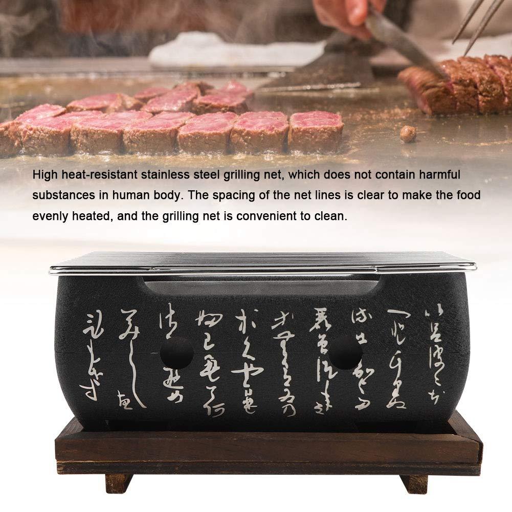 Amazon.com: Horno rectangular Cocina Japonesa Carbón Estufa ...