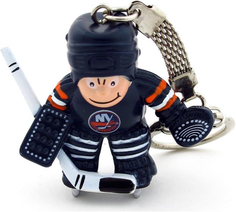 NHL New York Islanders Goalie Keychain