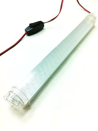 12 vmonster DC 12 V 4 W 69 x 5 mm Cluster Cool weiß LED Röhre Accent ...