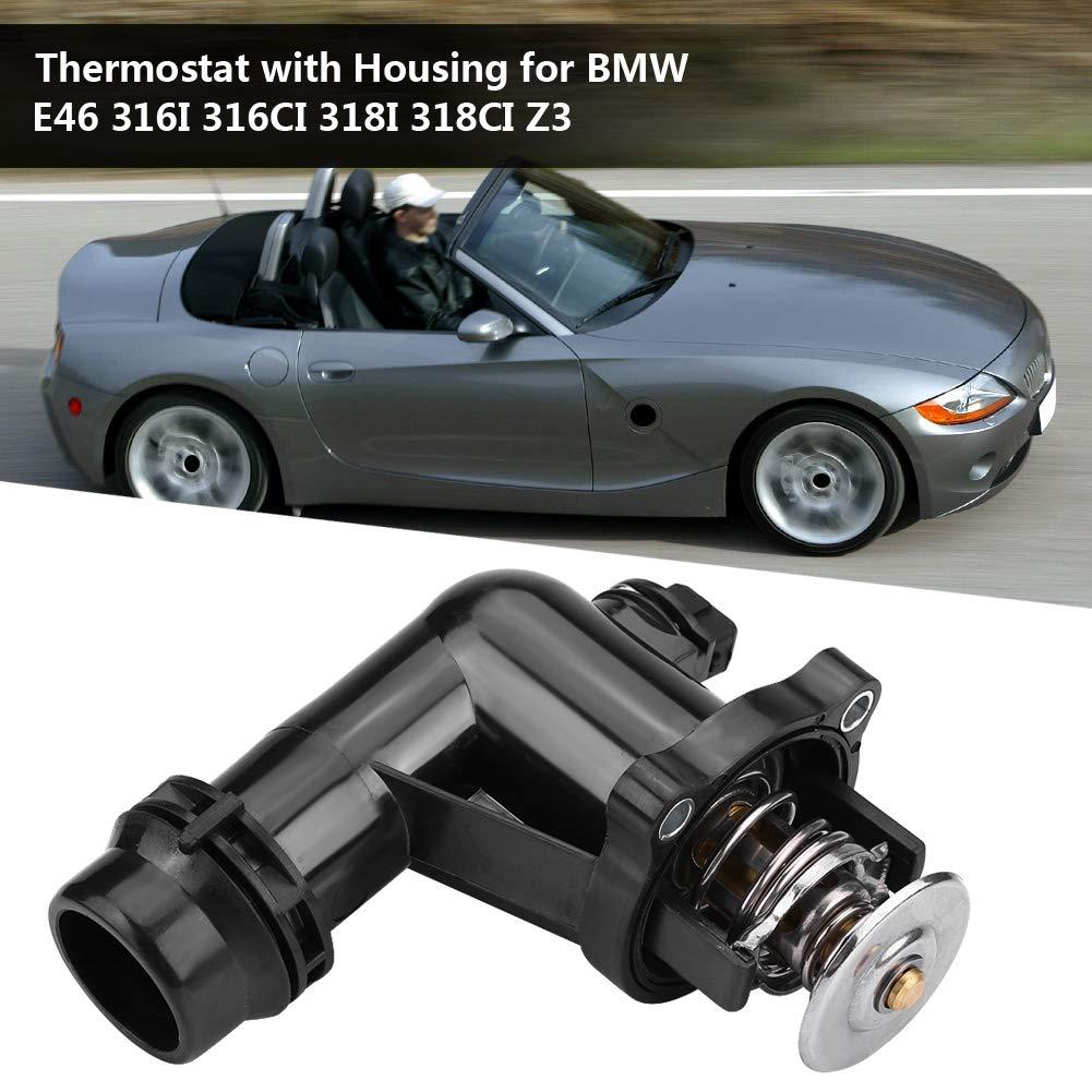 KIMISS 11531437085 Original Equipment Thermostat with Housing for E46 316I 316CI 318I 318CI Z3