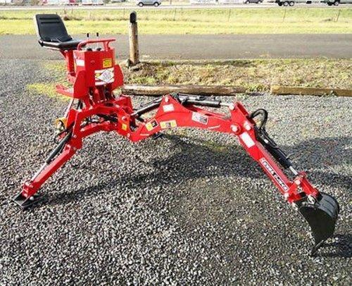 Value Leader 5' Dig Sub-Compact Tractor Backhoe w/Tank,Pump,Filter Cat.I 18-24 HP (VL-BHM5)