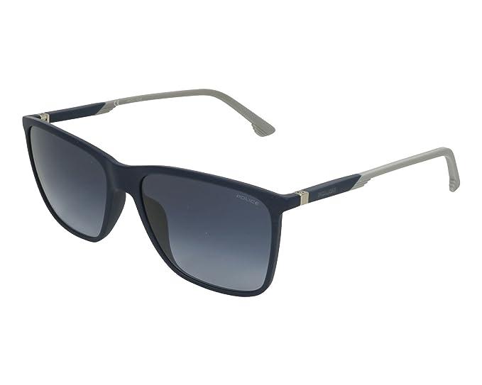 Police Gafas de sol - para hombre Azul Matt Blau - Matt Grau 57: Amazon.es: Ropa y accesorios
