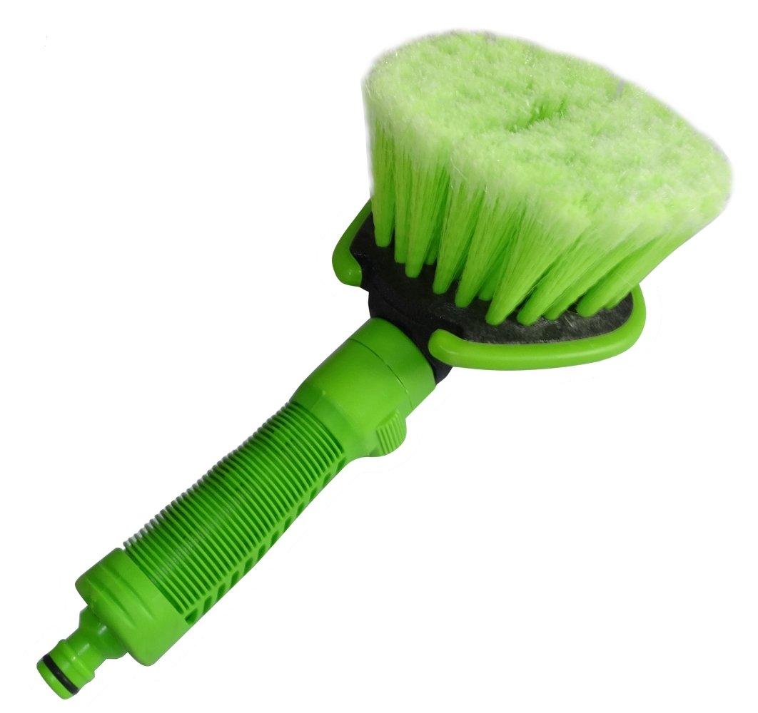 Aerzetix - Spugna , spazzola di lavaggio auto con connessione raccordo rapido per tubo . C17126-AK133